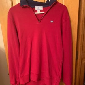Southern Tide red 1/4